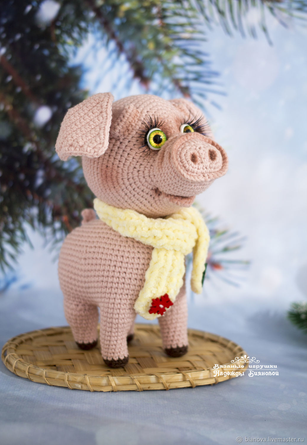 Pig Knitted Gift 17cm Shop Online On Livemaster With Shipping