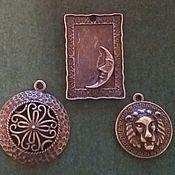 Материалы для творчества handmade. Livemaster - original item Pendant-pendant. Handmade.