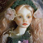 Куклы и игрушки ручной работы. Ярмарка Мастеров - ручная работа Шарнирная кукла Агата. Handmade.