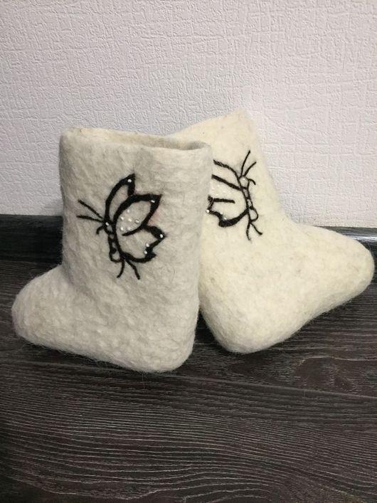 Детская обувь ручной работы. Ярмарка Мастеров - ручная работа. Купить Детские Валенки с вышивкой/узором/рисунком. Handmade. Разноцветный, валенки для девочки