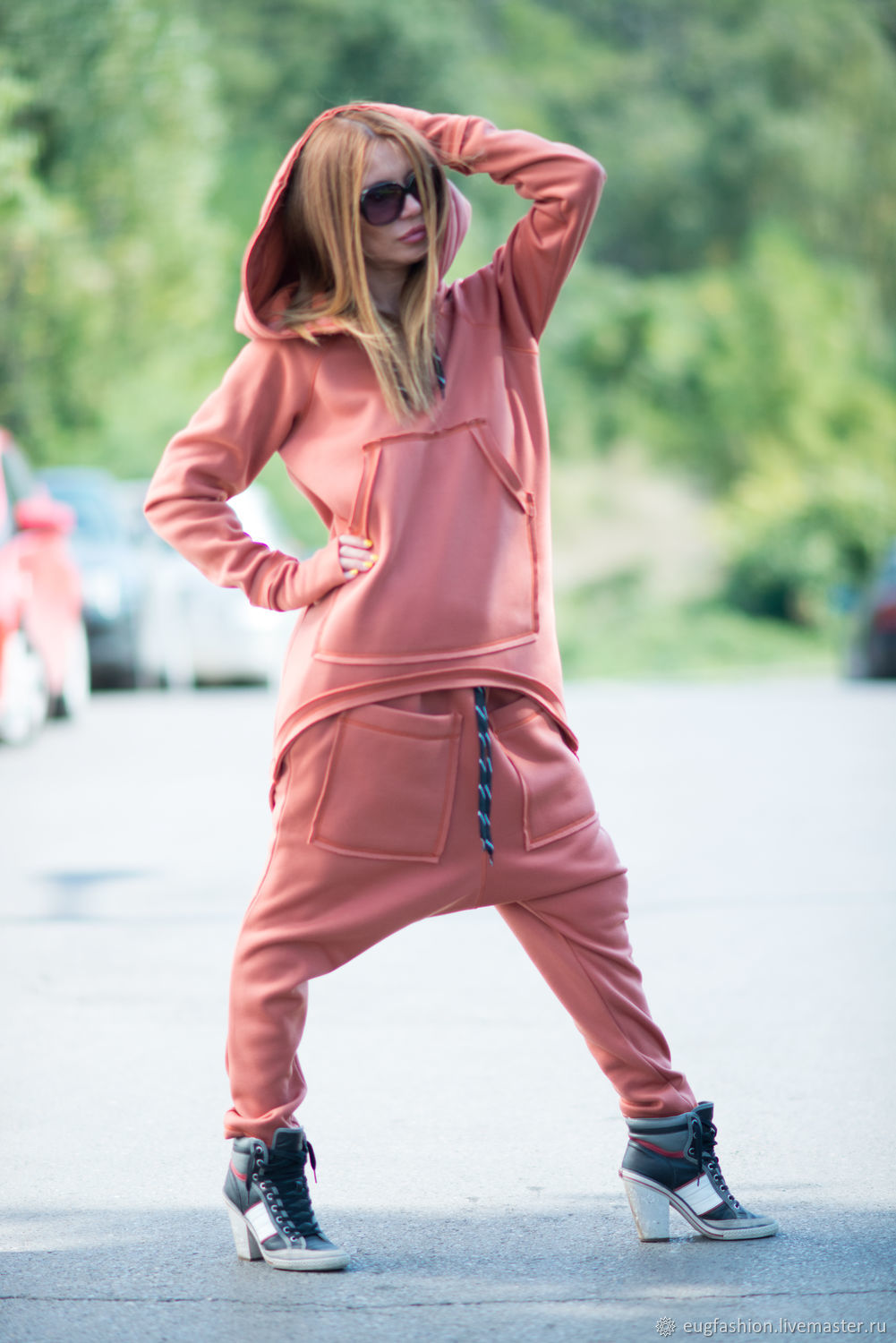 Spring, thick cotton tracksuit - SE0668W3, Tracksuits, Sofia,  Фото №1