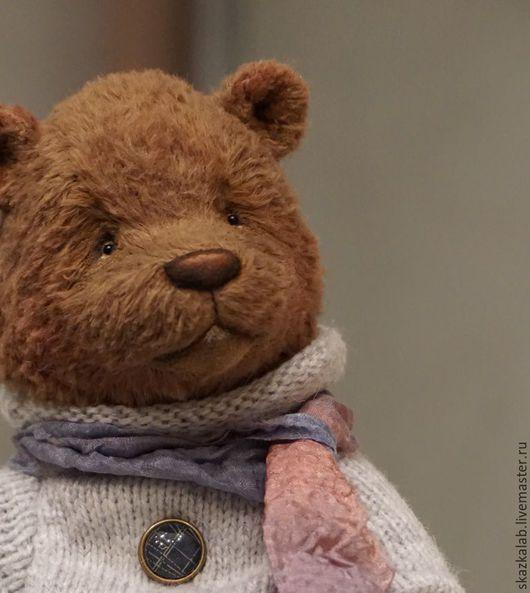 Мишки Тедди ручной работы. Ярмарка Мастеров - ручная работа. Купить Trusty. Handmade. Коричневый, мишка ручной работы