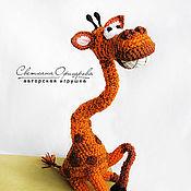 Куклы и игрушки ручной работы. Ярмарка Мастеров - ручная работа Жираф Роберт. Handmade.
