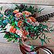 Букет невесты из живых цветов Бохо