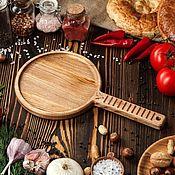 """Доски ручной работы. Ярмарка Мастеров - ручная работа """"для Блинов"""" доска-блюдо для подачи из массива ясеня.. Handmade."""