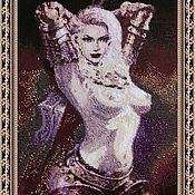 Субкультуры handmade. Livemaster - original item Tapestry beaded AMAZON.FANTASY.. Handmade.