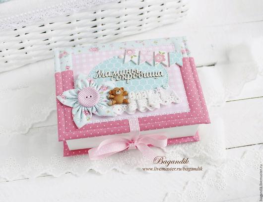 Подарки для новорожденных, ручной работы. Ярмарка Мастеров - ручная работа. Купить Мамины сокровища с мишкой. Handmade. Мамины сокровища