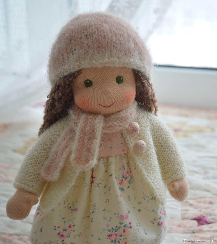 Вальдорфская кукла Нежная чайная роза, Вальдорфские куклы и звери, Таруса,  Фото №1