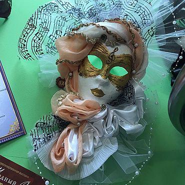 Для дома и интерьера ручной работы. Ярмарка Мастеров - ручная работа Венецианская маска. Вольто. Handmade.