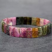 handmade. Livemaster - original item Bracelet natural stone tourmaline. Handmade.