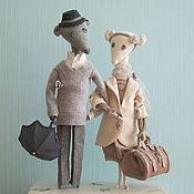 Куклы и игрушки ручной работы. Ярмарка Мастеров - ручная работа Нечердачные мыши. Handmade.