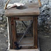 Для дома и интерьера handmade. Livemaster - original item Candleligt BOATSWAIN. Sea interior. Loft. Handmade.