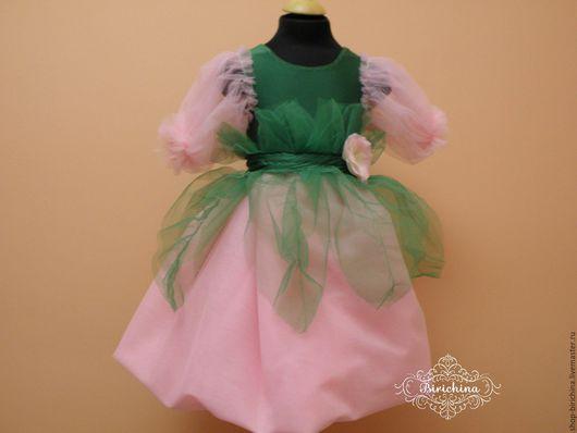 Одежда для девочек, ручной работы. Ярмарка Мастеров - ручная работа. Купить Дюймовочка или Цветочная фея. Handmade. Комбинированный, дюймовочка