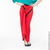 Одежда handmade. Livemaster - original item AG_023 Skirt red long and narrow with the smell. Handmade.