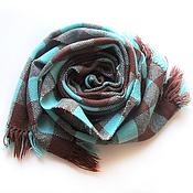 Аксессуары ручной работы. Ярмарка Мастеров - ручная работа Домотканый шарф.  Домоткань ткачество. Handmade.