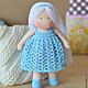 Вальдорфская игрушка ручной работы. Ярмарка Мастеров - ручная работа. Купить Вальдорфская кукла Незабудка, 15 см. Handmade.