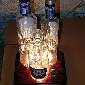 """Сувениры и подарки ручной работы. Ярмарка Мастеров - ручная работа светильник- прикол""""На троих"""". Handmade."""
