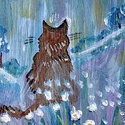 Картины и панно ручной работы. Ярмарка Мастеров - ручная работа Картина Под луной. Handmade.