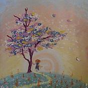 Картины и панно ручной работы. Ярмарка Мастеров - ручная работа Дерево желания. Handmade.