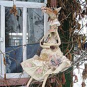 Куклы и игрушки ручной работы. Ярмарка Мастеров - ручная работа игрушка лошадка ВАНИЛЬНАЯ ВАЛЯ. Handmade.