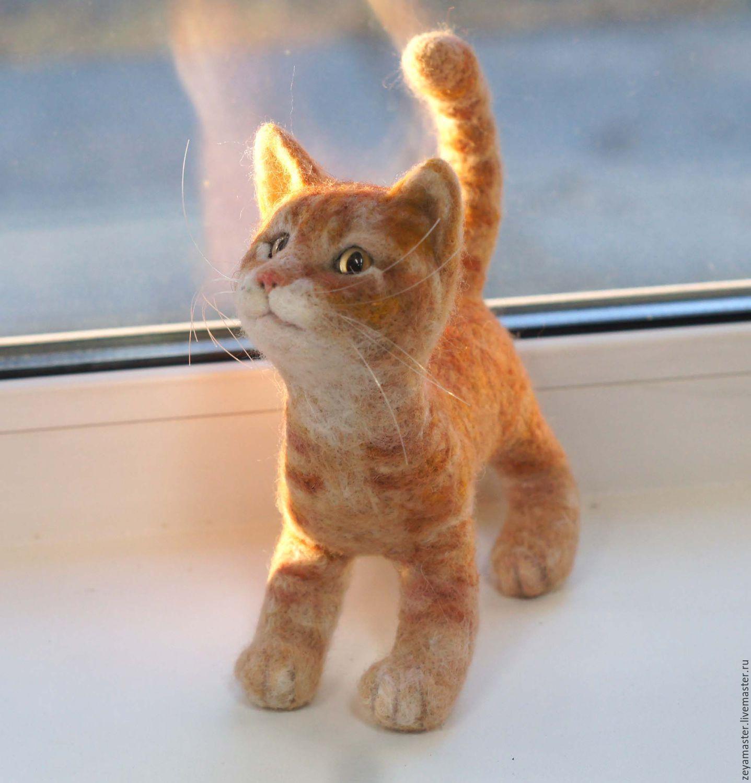 Игрушка рыжий кот купить