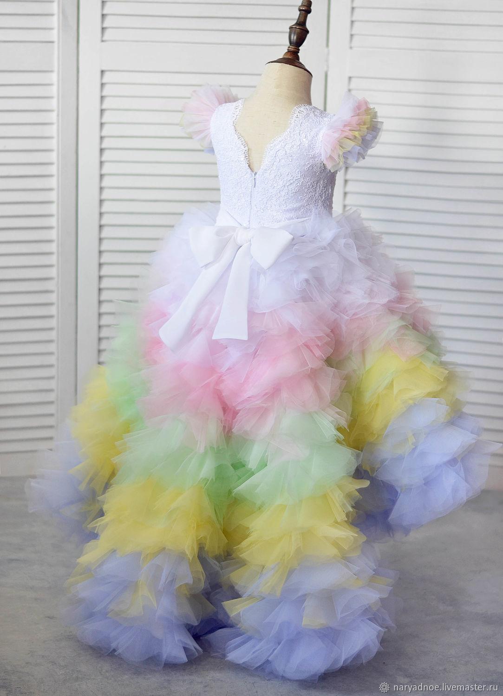 Платье Единорожка (белый), Платья, Новосибирск,  Фото №1