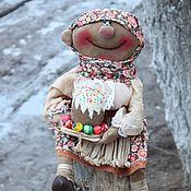 Куклы и игрушки handmade. Livemaster - original item Baba Manya with Easter. Handmade.
