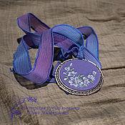 Украшения handmade. Livemaster - original item Embroidered pendant Aurora. Handmade.
