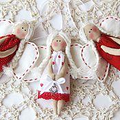Куклы и игрушки ручной работы. Ярмарка Мастеров - ручная работа Ангелочки - талисманчики. Handmade.