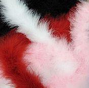Материалы для творчества ручной работы. Ярмарка Мастеров - ручная работа Боа из перьев и пуха марабу. Handmade.