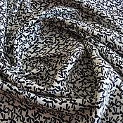 Материалы для творчества handmade. Livemaster - original item Italian fabric viscose dress-brusochka bows. Handmade.