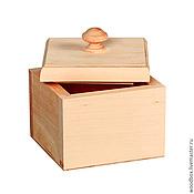 Посуда handmade. Livemaster - original item Sp121210 spice box 12 12 10 blank for decoupage. Handmade.