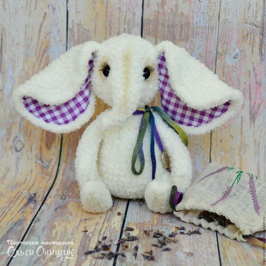 Мишки Тедди ручной работы. Ярмарка Мастеров - ручная работа. Купить Слоник тедди Вэнди. Handmade. Вязанная игрушка, слон