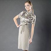 Одежда ручной работы. Ярмарка Мастеров - ручная работа Юбка с завышенной талией и блузка. Handmade.
