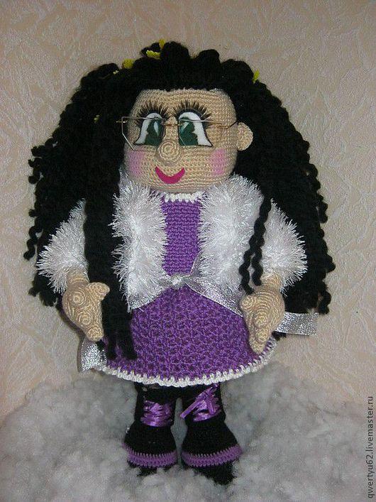 Человечки ручной работы. Ярмарка Мастеров - ручная работа. Купить кукла Наташка-милашка. Handmade. Авторская кукла, пряжа травка