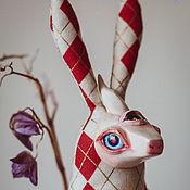 Куклы и игрушки ручной работы. Ярмарка Мастеров - ручная работа Toy 28_17 Cert Rabbis. Handmade.
