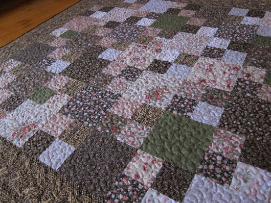Текстиль, ковры ручной работы. Ярмарка Мастеров - ручная работа. Купить Уютный октябрь 2. Handmade. Коричневый, 100% хлопок
