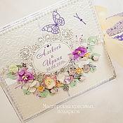 Свадебный салон ручной работы. Ярмарка Мастеров - ручная работа Мини альбом для фото:``Лавандовый сад``. Handmade.