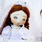 Куклы и игрушки handmade. Livemaster - original item The Bride and groom.. Handmade.