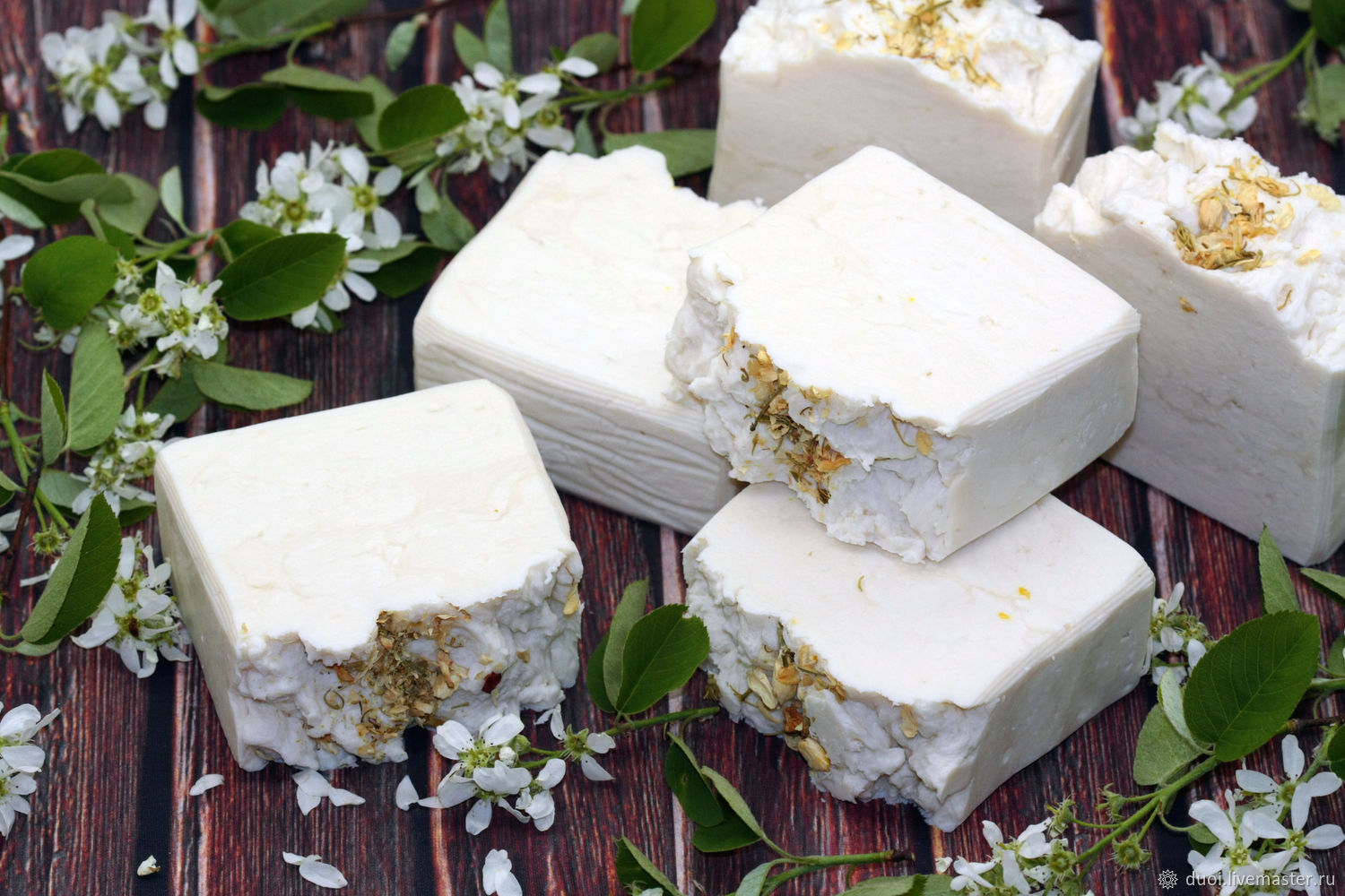 Soap natural White clay, Soap, Moscow,  Фото №1