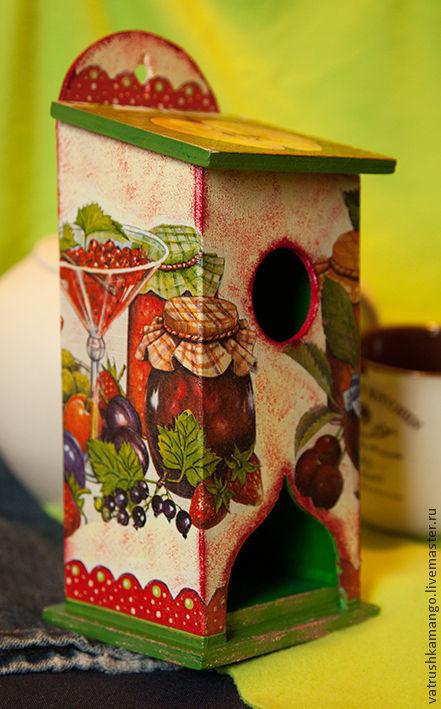 """Кухня ручной работы. Ярмарка Мастеров - ручная работа. Купить """"Вареньеце"""" Чайный домик. Handmade. Ярко-красный, оливковый"""