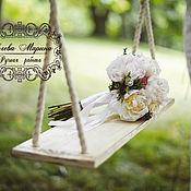 Свадебный салон ручной работы. Ярмарка Мастеров - ручная работа Качели свадебные Шебби. Handmade.