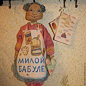 """Для дома и интерьера ручной работы. Ярмарка Мастеров - ручная работа Пакетница """"Милой бабуле"""". Handmade."""