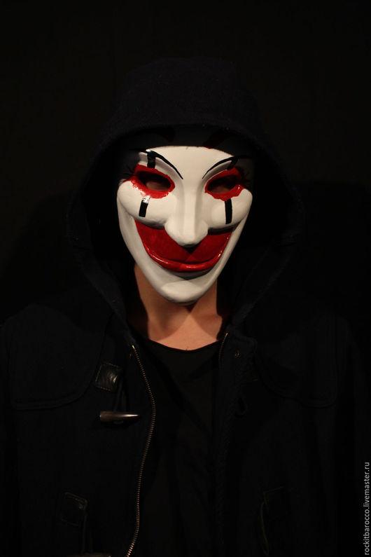 """Карнавальные костюмы ручной работы. Ярмарка Мастеров - ручная работа. Купить маска фильма """"Who Am I"""". Handmade. Белый"""