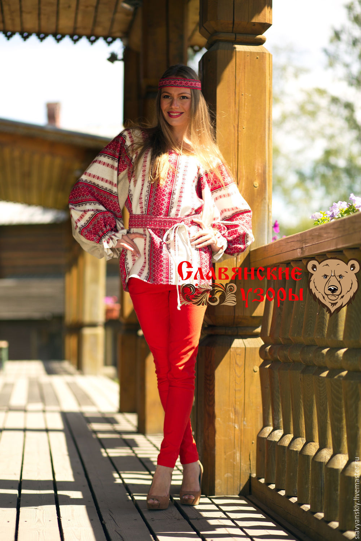 Блузка красная женская с доставкой