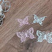 Материалы для творчества handmade. Livemaster - original item !Cutting for scrapbooking Butterfly Garden-design cardboard. Handmade.