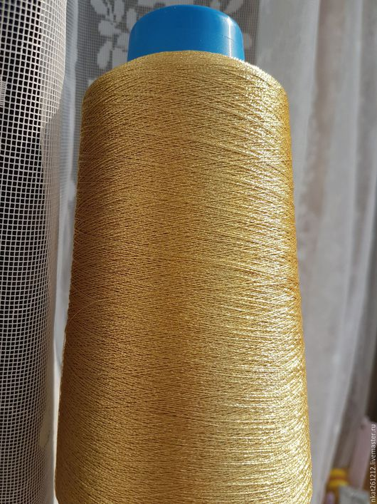 Вышивка ручной работы. Ярмарка Мастеров - ручная работа. Купить металлизированные нити для ручной вышивки ЯПОНИЯ. Handmade. Золотой