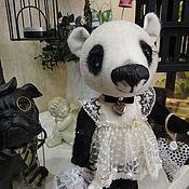 Куклы и игрушки ручной работы. Ярмарка Мастеров - ручная работа Медвежонок Катенька. Handmade.