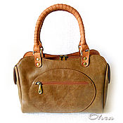 Сумки и аксессуары handmade. Livemaster - original item Handbag leather