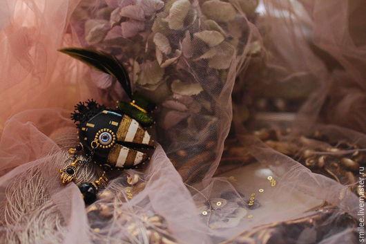 """Броши ручной работы. Ярмарка Мастеров - ручная работа. Купить Брошь ручной работы """"Загадочный мистер По """". Handmade."""